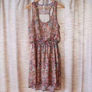 5/$25 Xhilaration Target Dress Tan Multi L